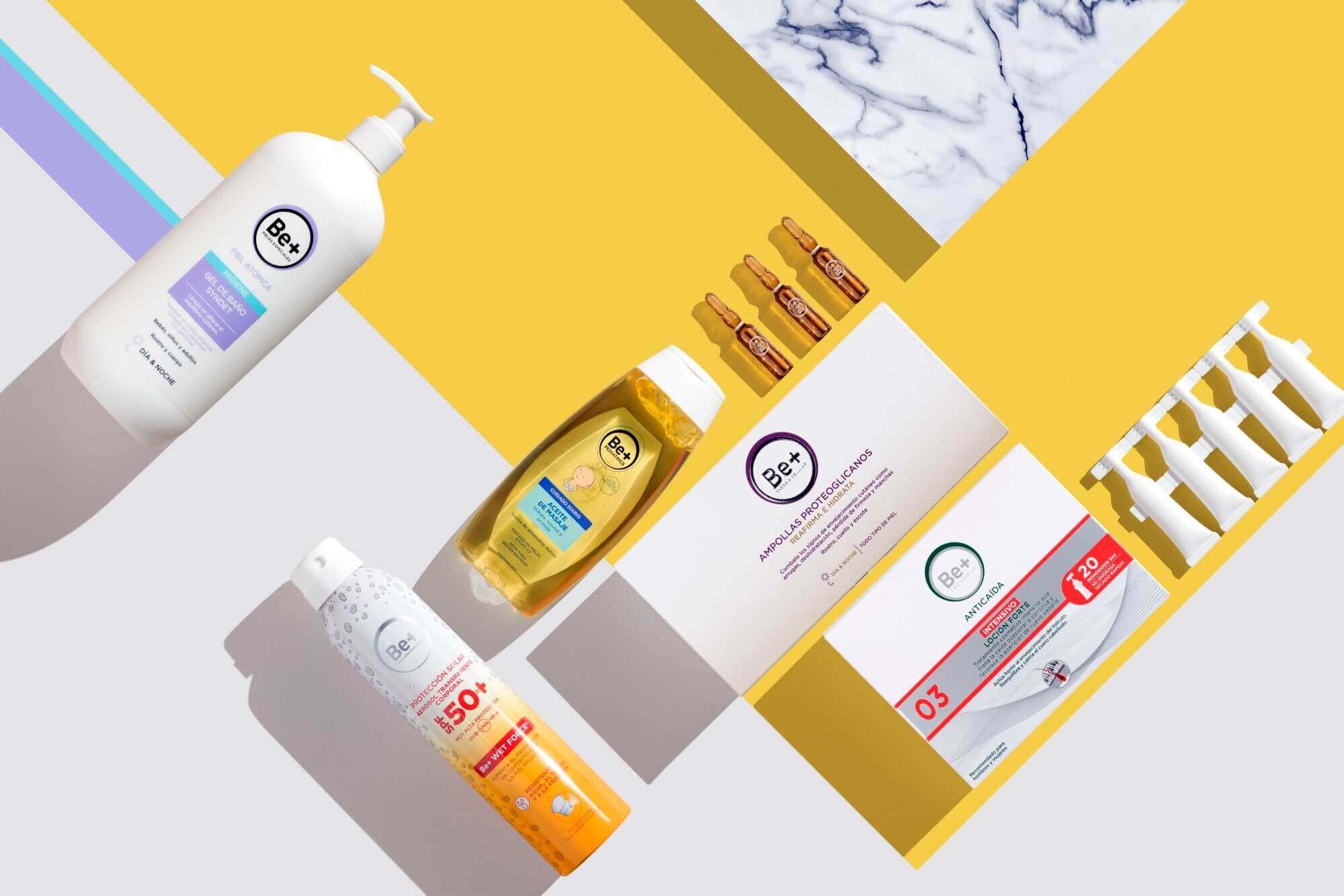 Be+ para Cuidado de la piel y el cabello de Cinfa: fotoprotección, antiedad…