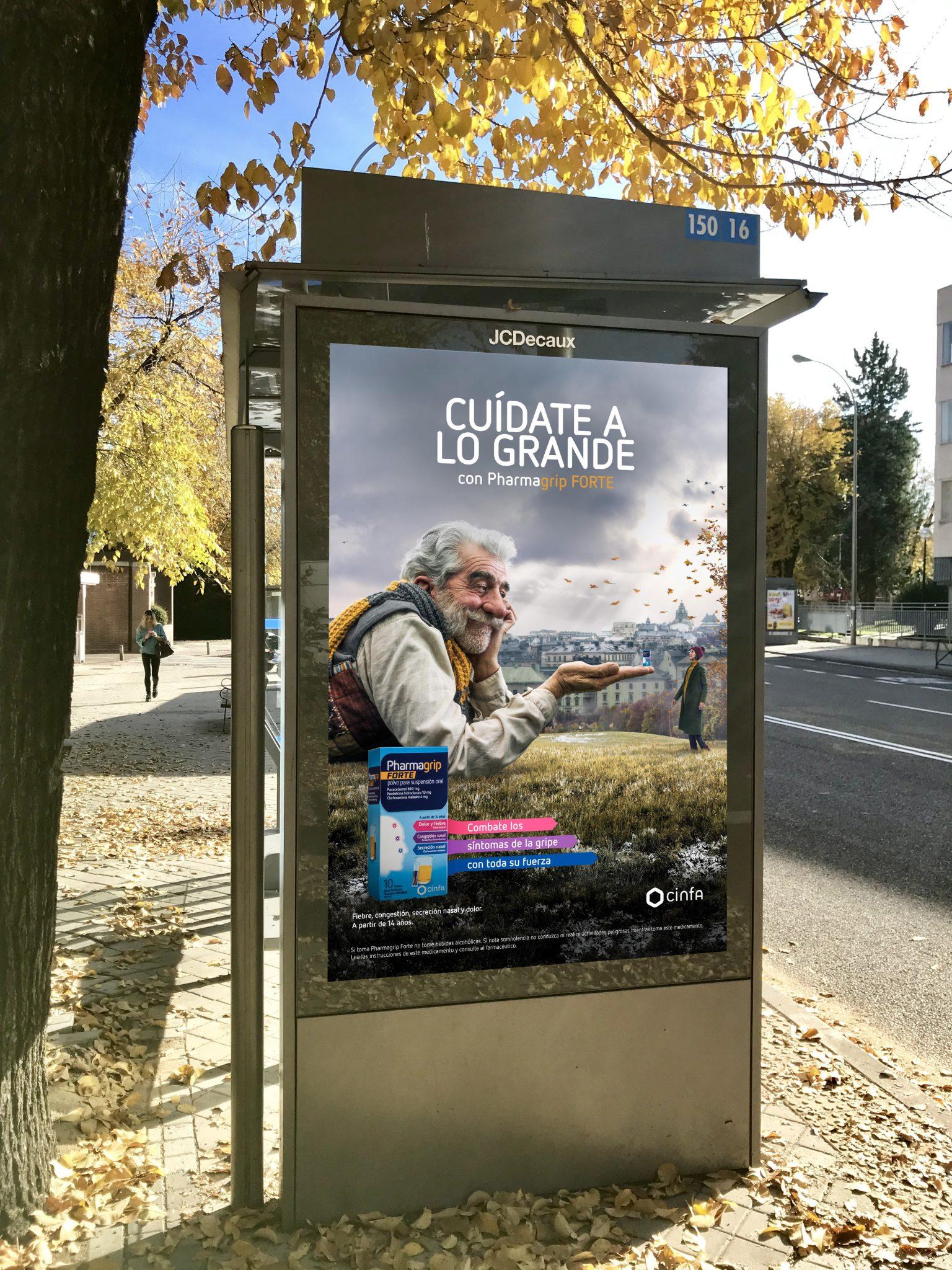 Campaña marcas de invierno Cinfa.
