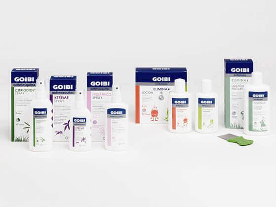Goibi: gama de producto de Cinfa para piojos y mosquitos