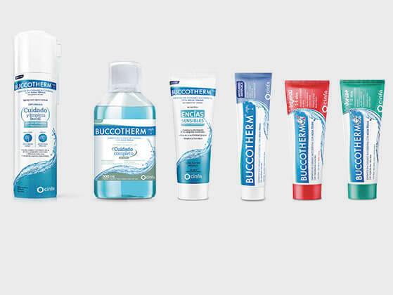 Buccotherm: gama de producto de Cinfa para el cuidado de la boca