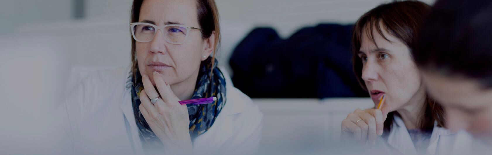 Empleadas del Laboratorio Farmacéutico Cinfa