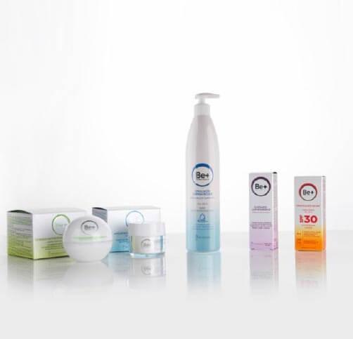 Cinfa Be+, tratamientos antiedad y de fotoprotección
